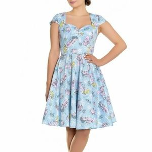 Hell Bunny Coralia Dress Mermaid 4673